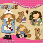 Get Well Bumpkins ClipArt Graphic Collection