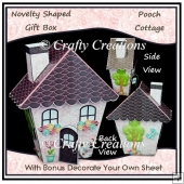 Novelty Shaped Gift Box - Pooch Cottage