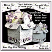 Time For Tea - Poppin' Box Card