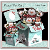 Poppin' Box Card - Snow Time