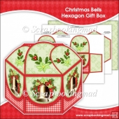 Christmas Bells Hexagon Gift Box