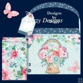 Floral Basket For You Tote & Gift Box