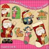 Christmas Bumpkins TWO ClipArt Graphic Collection