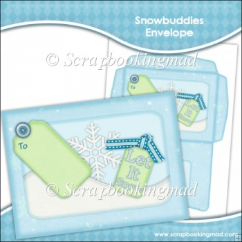 Snowbuddies Envelope