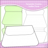 Template Overlay Ladies Purse Sheet