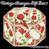 Vintage Hexagon Gift Box 7
