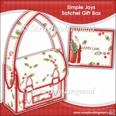 Christmas Simple Joys Satchel Gift Box