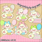 Rubys Birthday ClipArt Graphic Collection