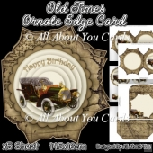 Old Times Ornate Edge Card