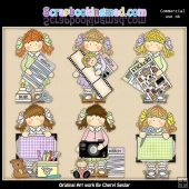 Holly Scrapbooking ClipArt Collection