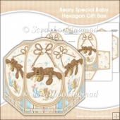 Beary Special Baby Hexagon Gift Box