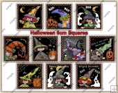 Halloween Patches ClipArt Graphic Collection