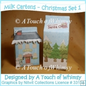 Milk Cartons - Christmas Set 1