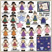 Angels Among Us ClipArt Graphic Collection