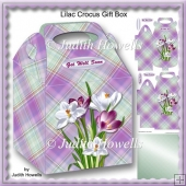 Lilac Crocus Gift Box