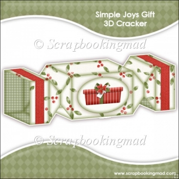 Simple Joys Gift 3D Cracker Gift Box