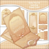 Sorry You're Leaving Easel Card & Envelope Kit
