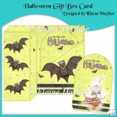 Halloween Gift Box Card