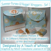 Summer Purses & Nugget Wrappers - Set 1