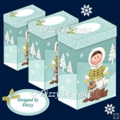 Eskimo Boy and Friends Gift Boxes