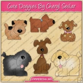 Cute Doggies Graphic Collection - REF - CS