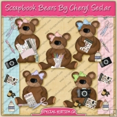Scrapbook Bears Collection - SPECIAL EDITION