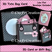 3D Tote Bag Card