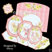 Triple Octagonal Easel Card