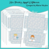 Six Pretty Angel Giftboxes