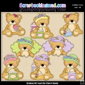 Sweet Stuffins Shopping ClipArt Collection