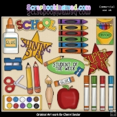 Student Of The Week ClipArt Collection