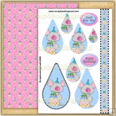 Sweet Birthday Treats PDF Teardrop Pyramage Download