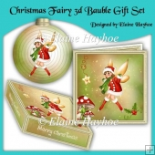 Christmas Fairy 3d Bauble Gift Set