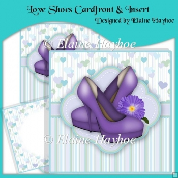Love Shoes Cardfront & Insert