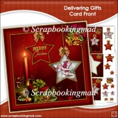 Delivering Gifts Card Front & Insert Panel