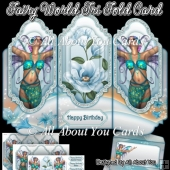 Fairy World Tri Fold Card