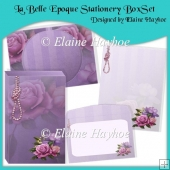 La Belle Epoque Stationery Box Set