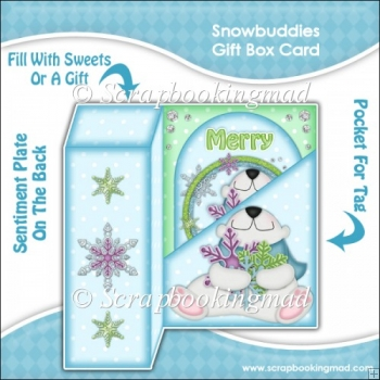 Snowbuddies Gift Box Card