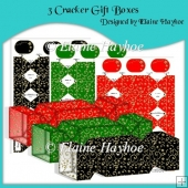 Half Price 3d Cracker Gift Box Selection
