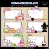 Shopping Bulletins ClipArt Collection