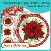 Relations Double Layer Topper Card Kit