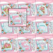 FREE WHEN U SPEND �10 - 10 CARD FRONT KITS - SET 11