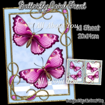 Butterfly Card front