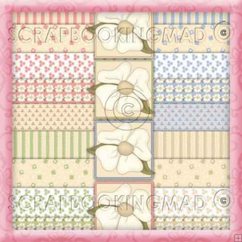 Spring Bloom Download Collection 77 coordinating Items
