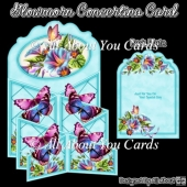 Glowmorn Concertina Card
