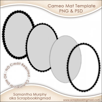Cameo Mat Templates Commercial Use OK