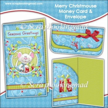 Merry Christmouse Money Card & Envelope