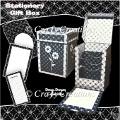 Monochrome Stationery Gift Box