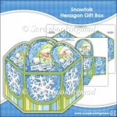 Snowfolk Hexagon Gift Box