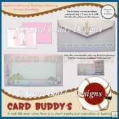 Girl Christening/Baptism/Naming Money Envelope Kit